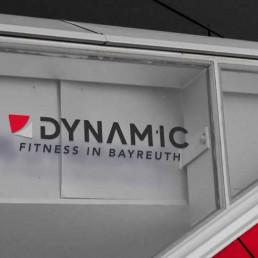 Fitnessstudio Bayreuth Dynamic Logo